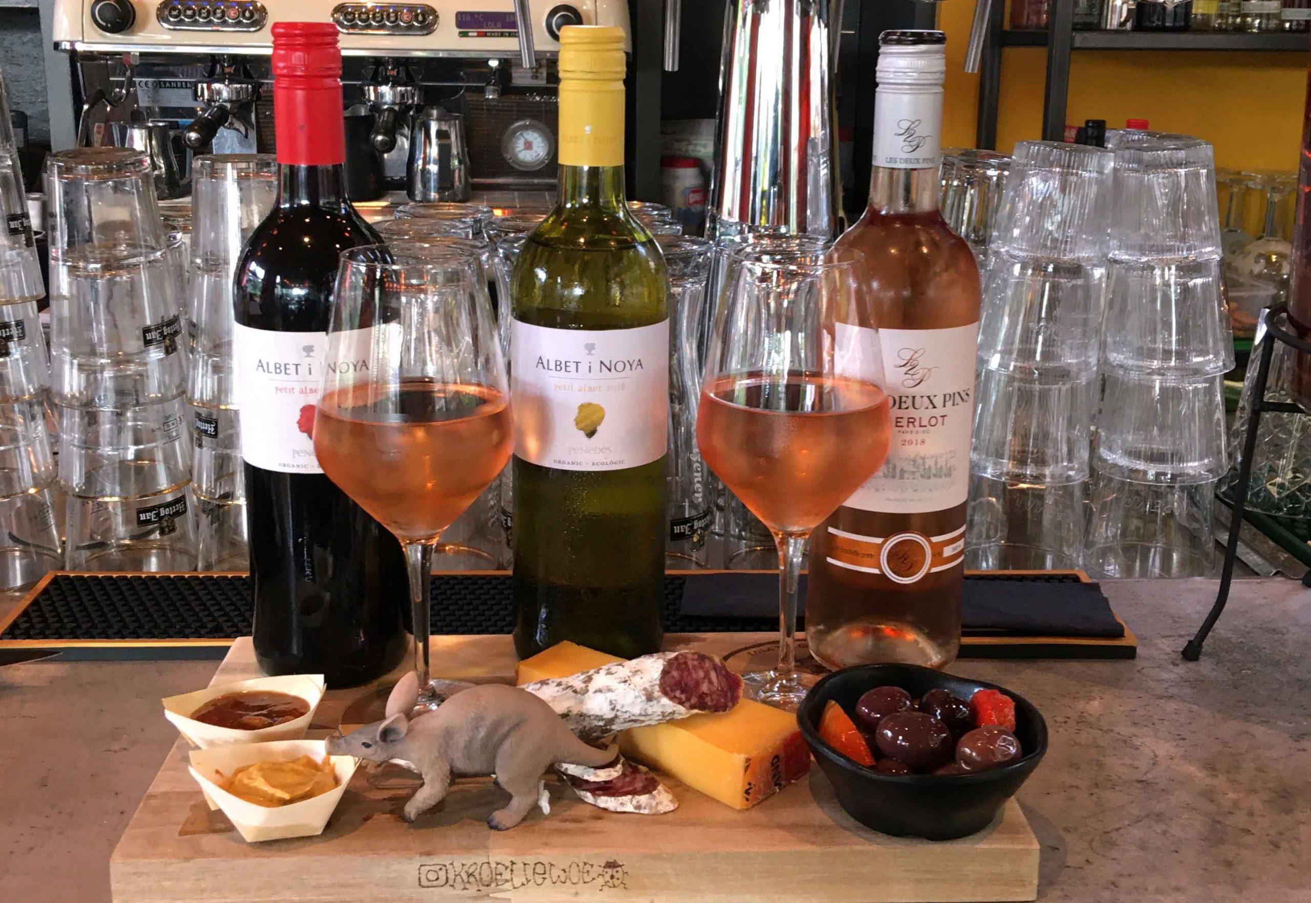 wine | bites | Lola the Green Aardvark | Foodbar